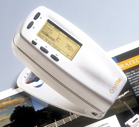 X-Rite 518 Color Reflection Spectrodensitometer