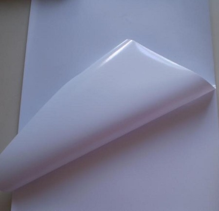 3.4 Mil Matte White PVC with Low Tack Removable Adhesive